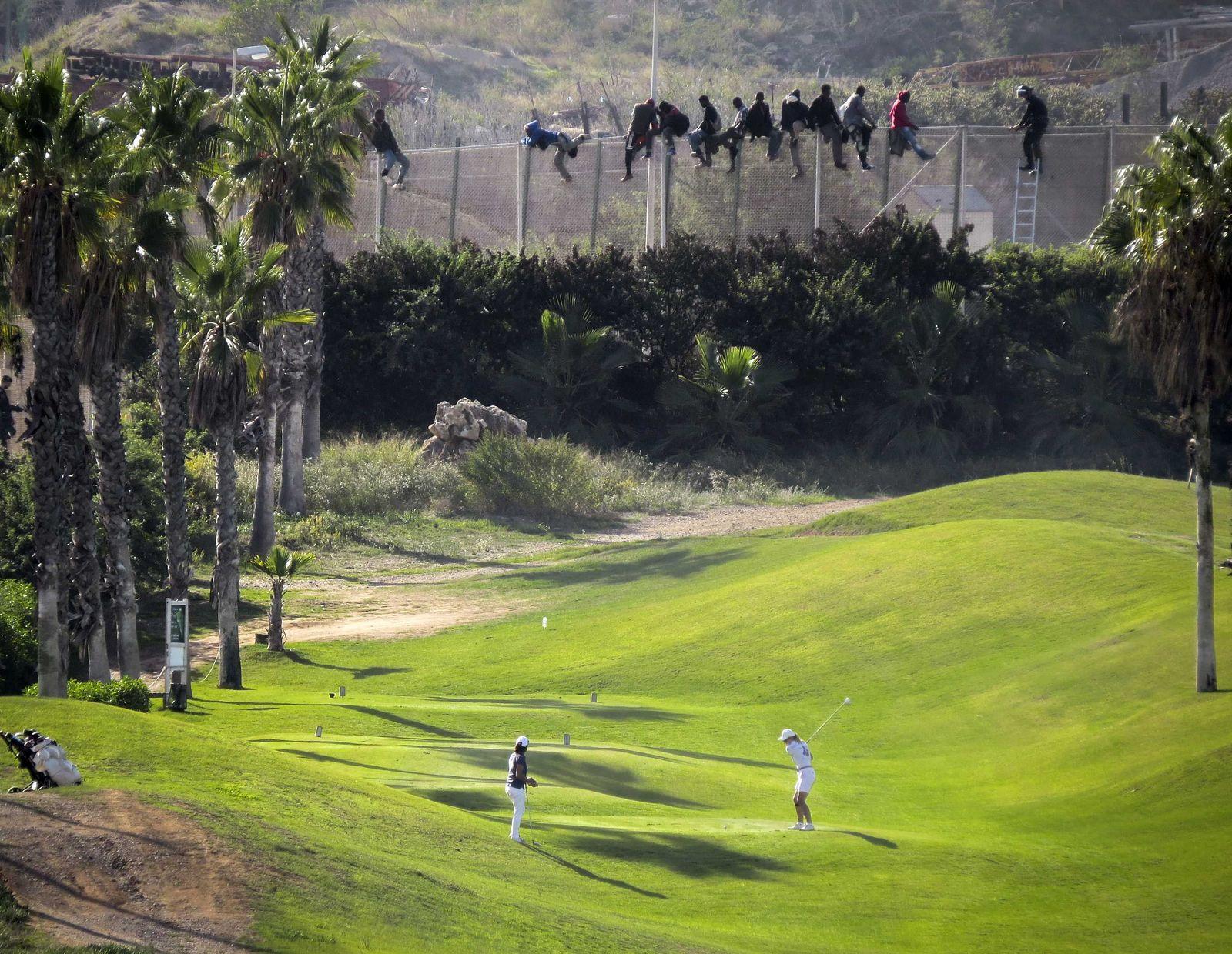 Spanien/ Marokko/ Melilla/ Flüchtlinge/ Golf