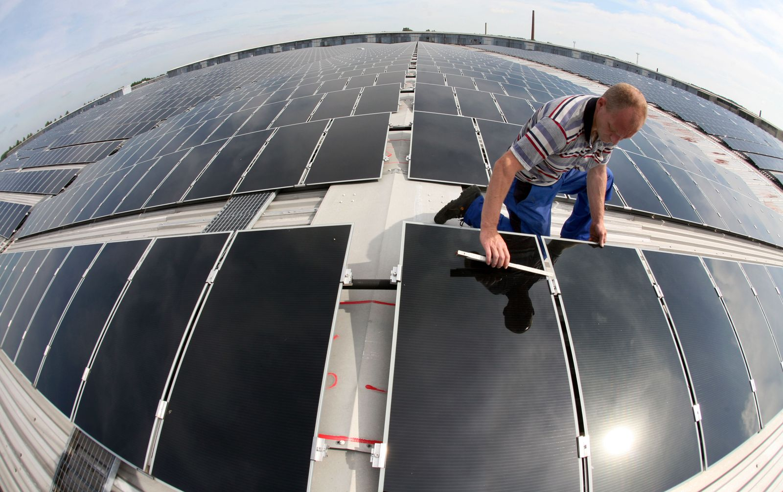 Photovoltaik-Dachanlage