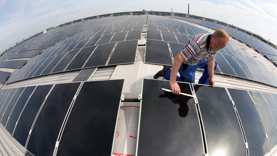 Solaranlage im brandenburgischen Haßleben: Unkontrollierter Boom