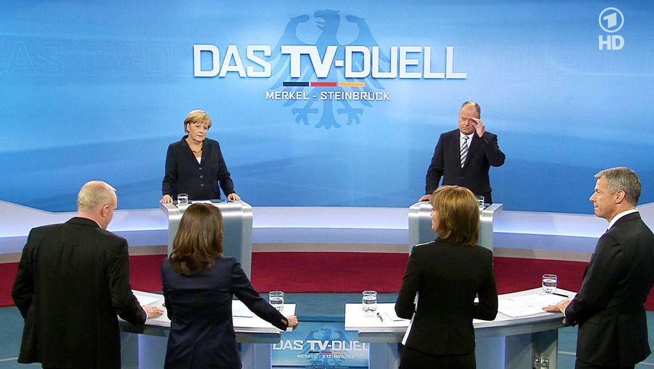TV-Duell Merkel gegen Steinbrück: Das war 0:0