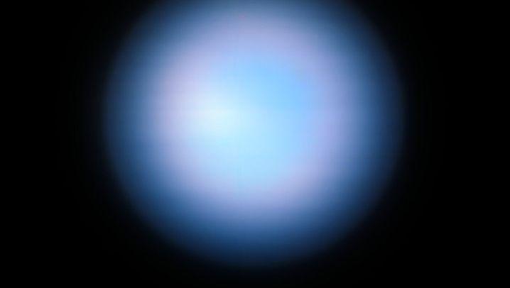 Aufnahme des Neptun mit alter und neuer Technik