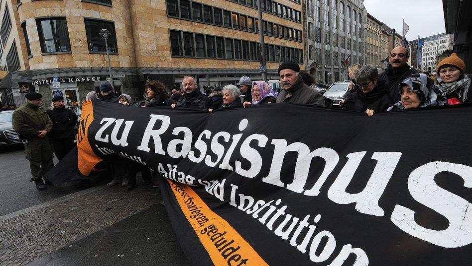 Antirassismus-Demo in Berlin