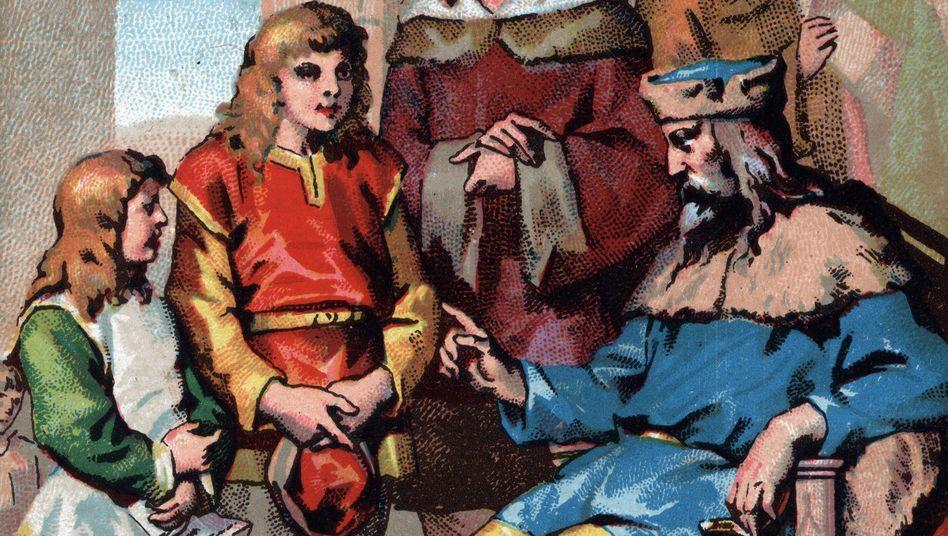 Karl der Große: Die Bildung der Kinder lag ihm sehr am Herzen