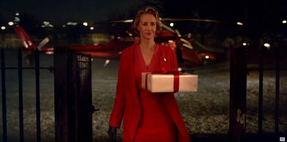 Szene aus dem Weihnachtswerbespot von Marks and Spencer