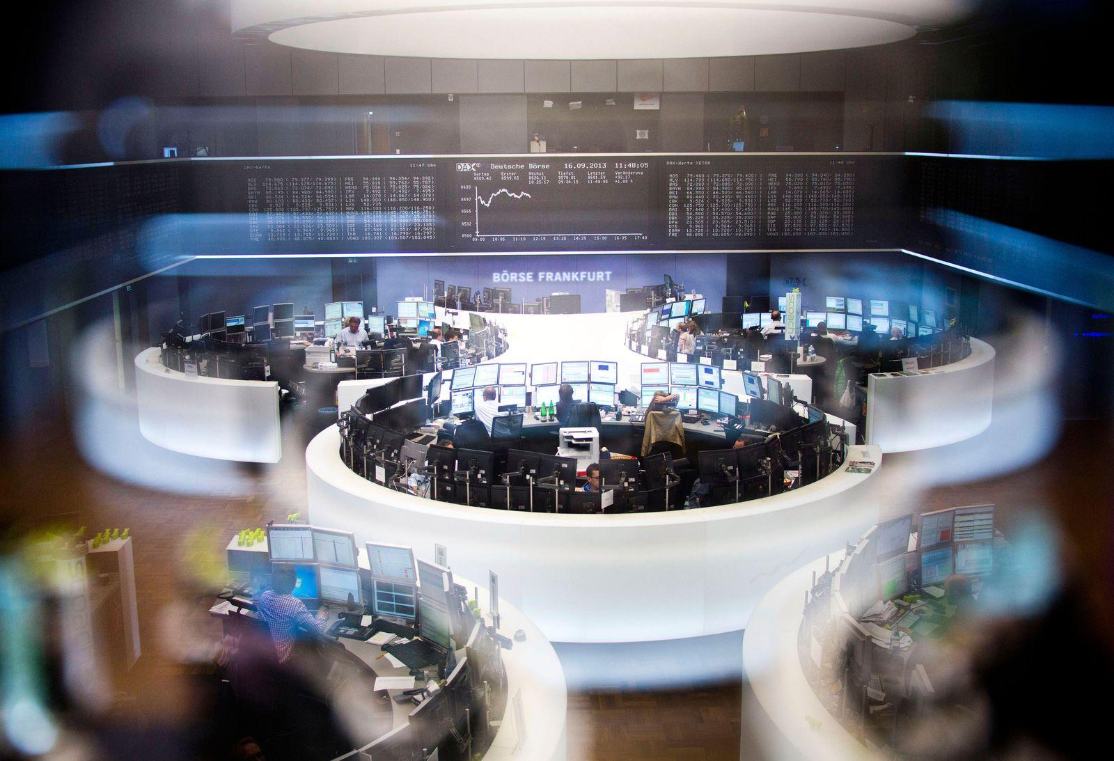 Symbolbild Börse Frankfurt