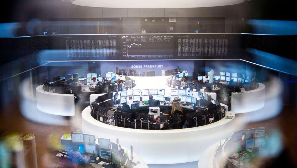 Börse in Frankfurt: Anleger sollten sich um ihr Depot kümmern