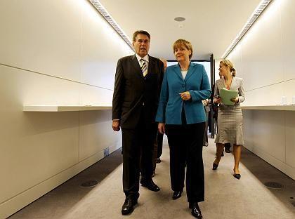 CSU-Politiker Glos, Merkel: Lange unterschätzt