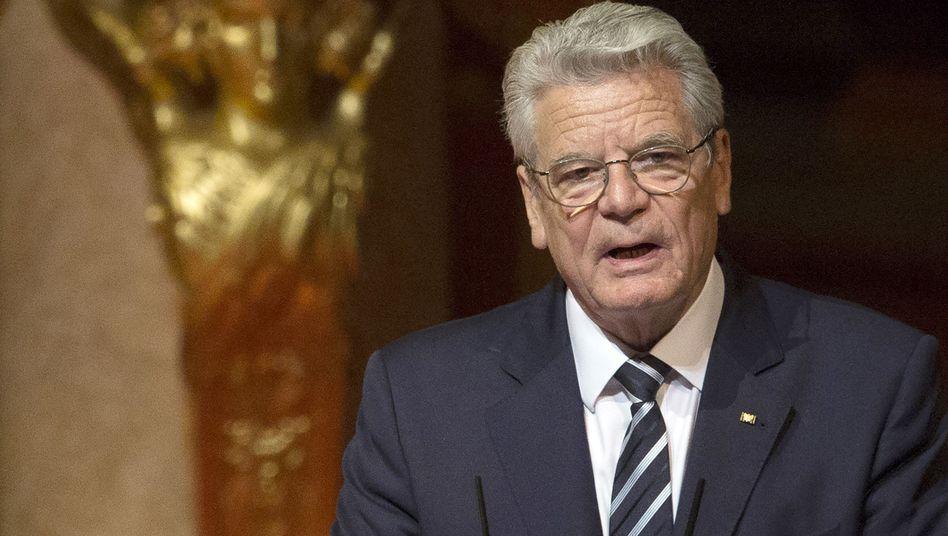 Joachim Gauck im Berliner Dom: Scharfe Reaktion von der türkischen Regierung