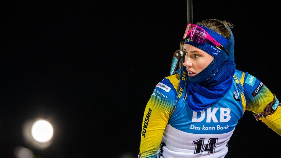 Will die norwegische Dominanz brechen: die Schwedin Hanna Öberg