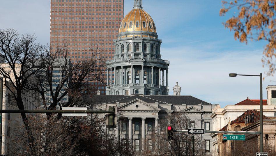 Das State Capitol in Denver, Colorado. 22 Menschen wurden 2019 in den USA hingerichtet