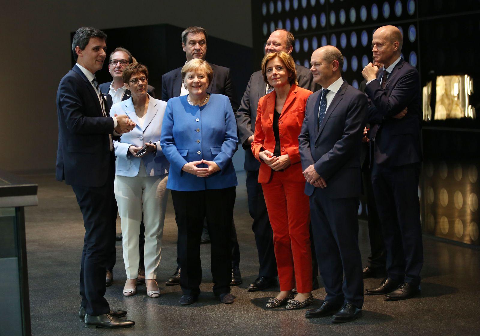 Klimapaket/ Koalitionsausschuss/ Gruppenfoto/ 2019