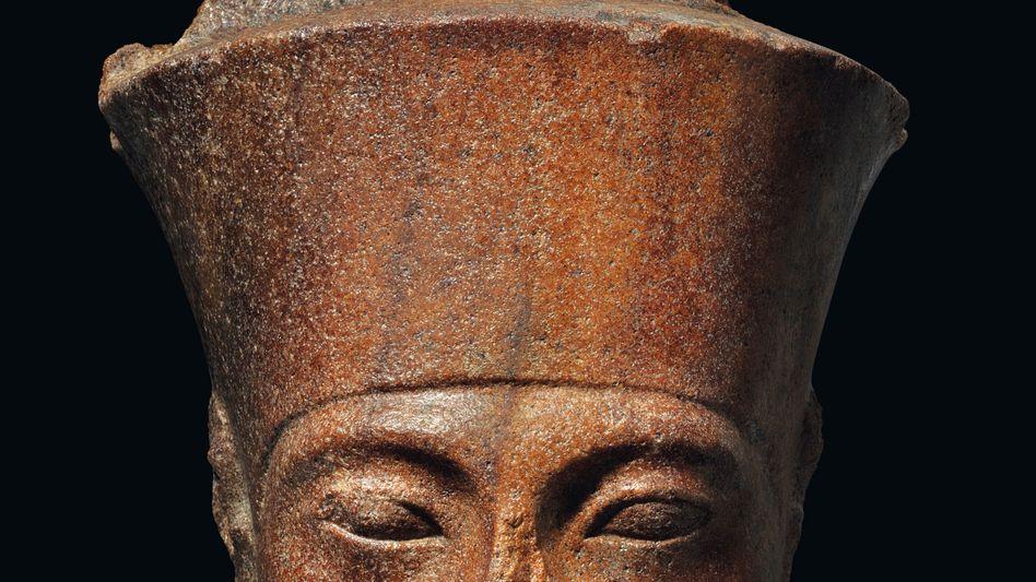 Für mehr als fünf Millionen Euro versteigert: Eine gut 3000 Jahre alte Büste des ägyptischen Pharaos Tutanchamun