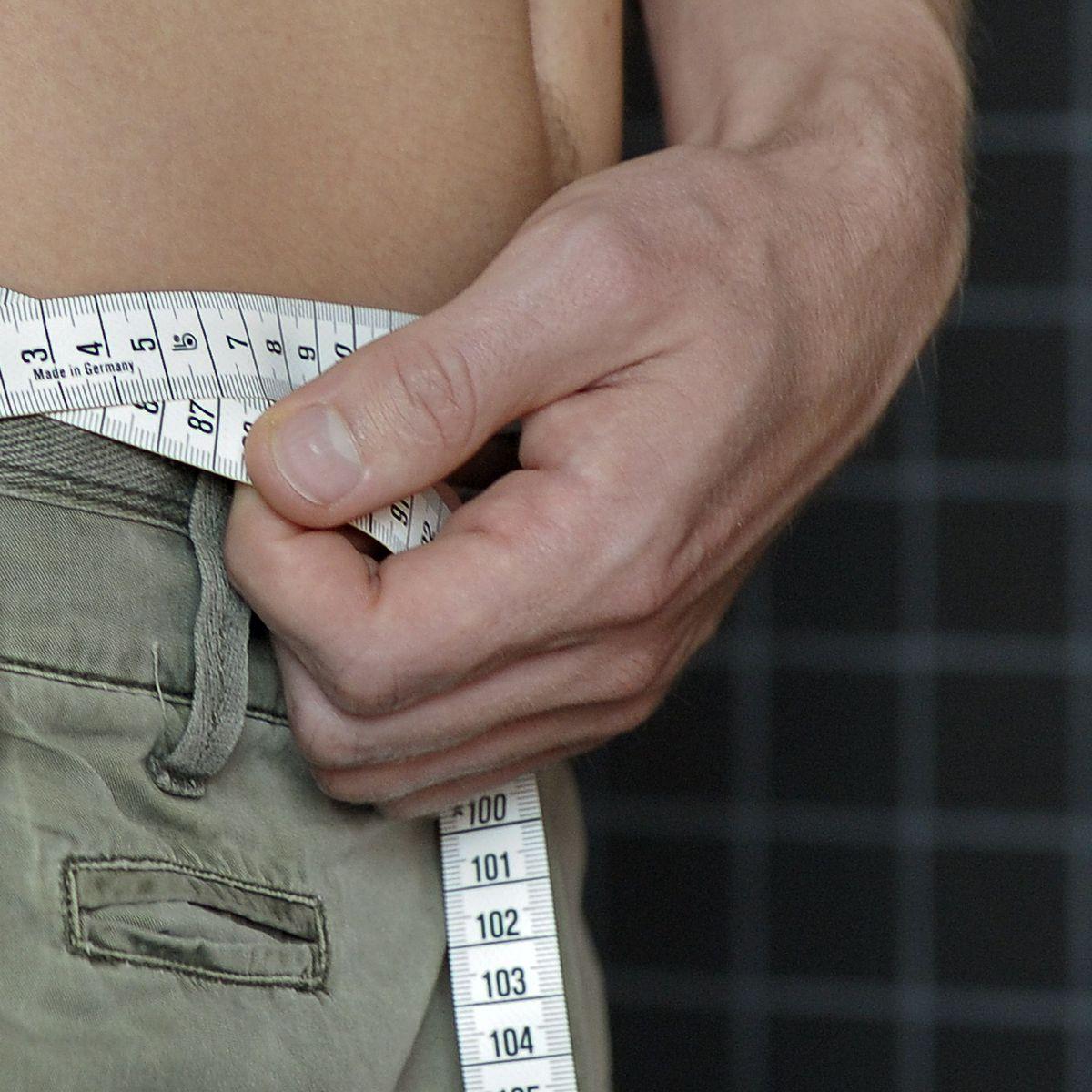 Mann dünn bauch aber dicker Extrem schlank,
