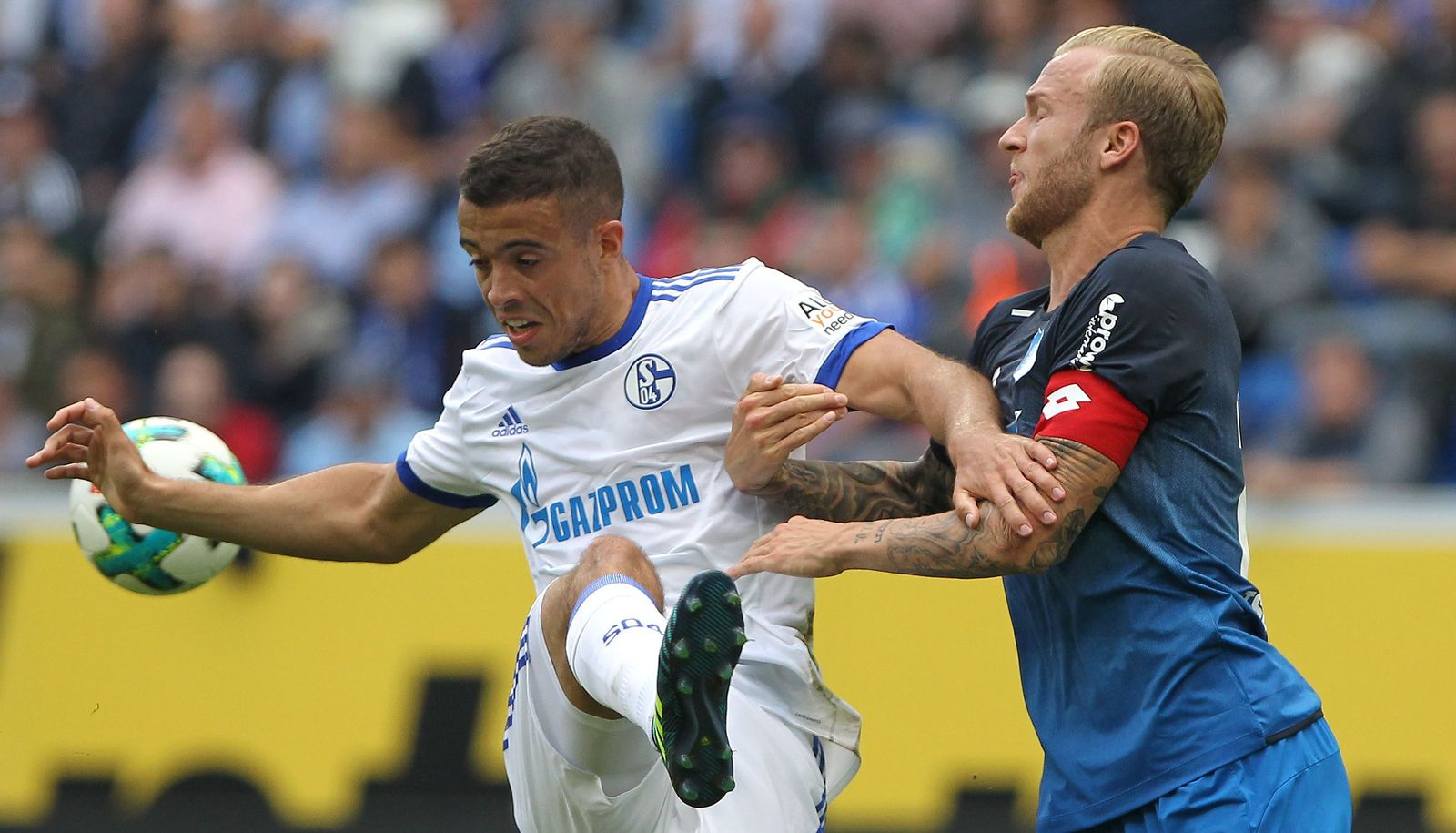 Vogt di Santo Schalke Hoffenheim