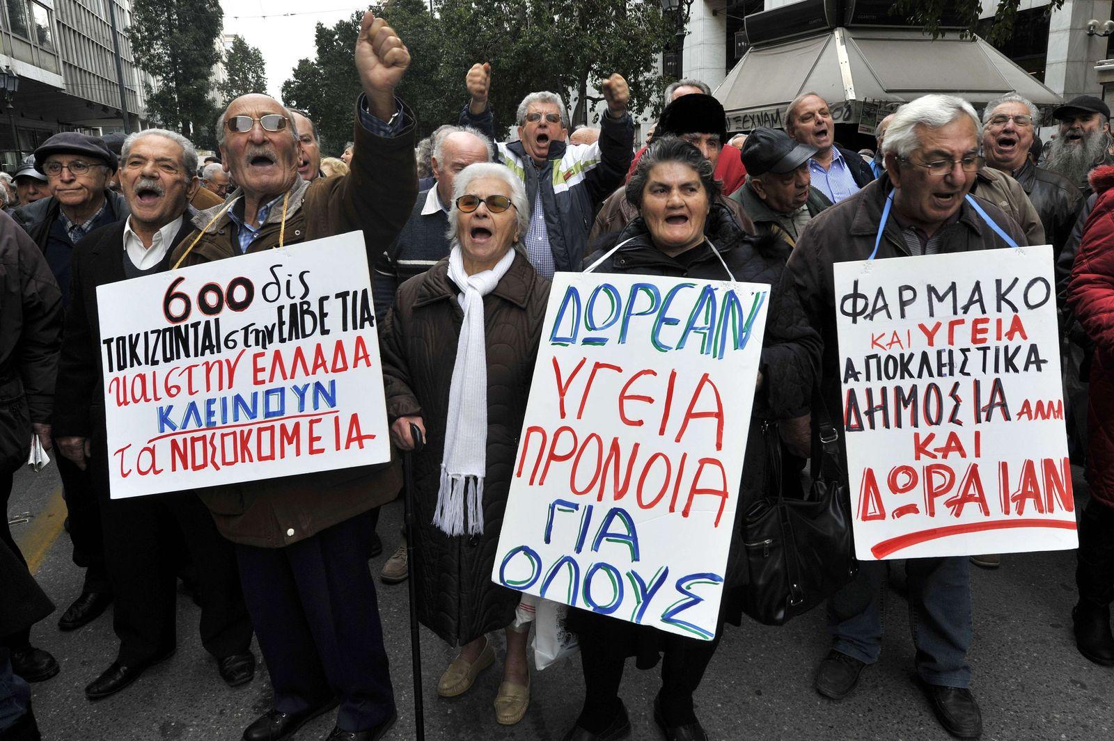 Griechenland / Krise / Protest