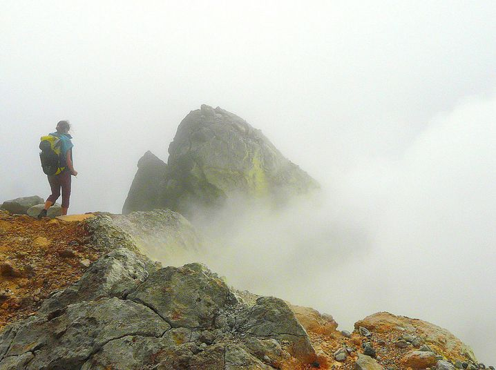 Vulkanwanderung auf Guadeloupe: La Soufrière lässt Dampf ab