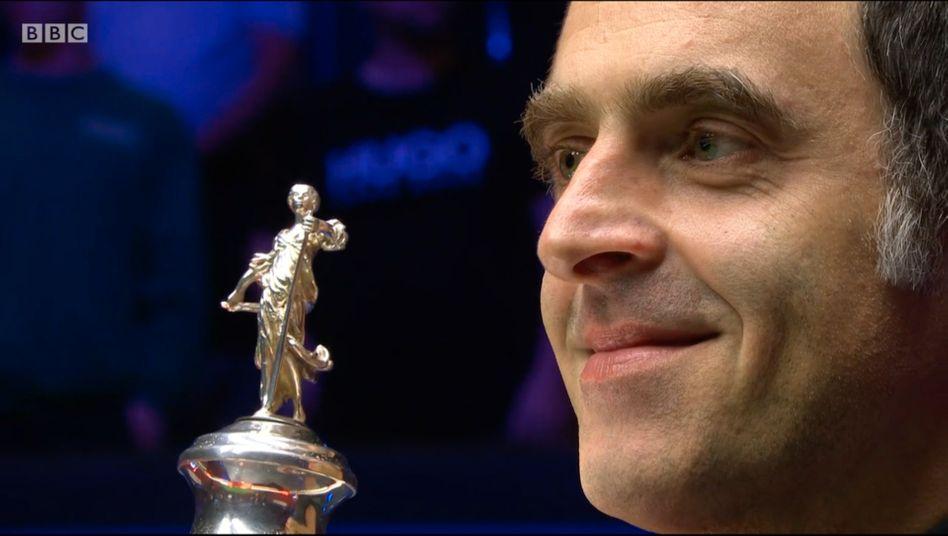 Ronnie O'Sullivan hat sich zum sechsten Mal den Weltmeistertitel im Snooker gesichert