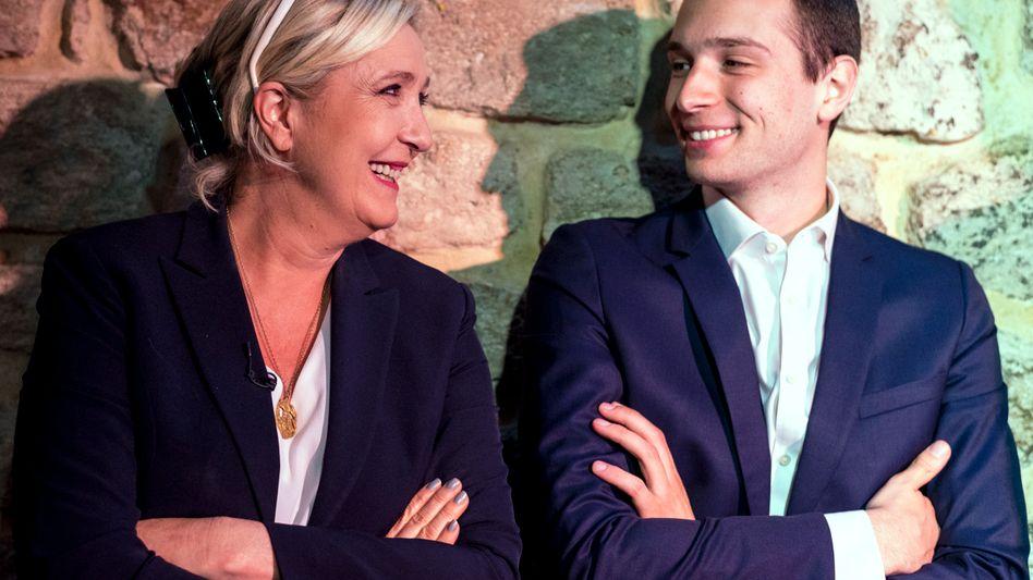 Marine Le Pen and Jordan Bardella: a team defined by radicalism