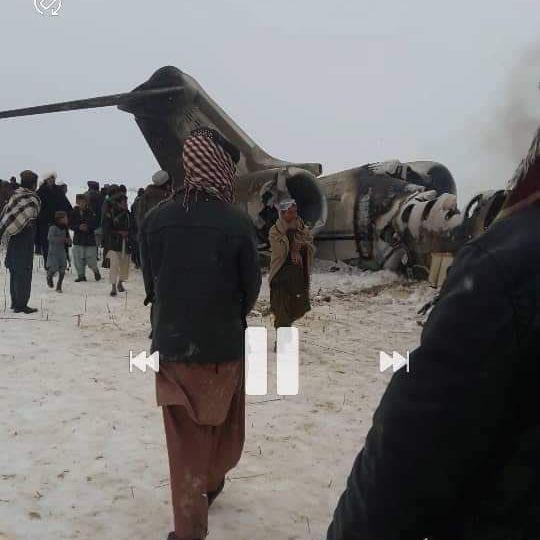 In Taliban-Gebiet: Abgestürztes Flugzeug in Afghanistan offenbar US-Militärjet