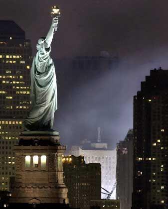 Freiheits-Statue: Freier Geldverkehr?