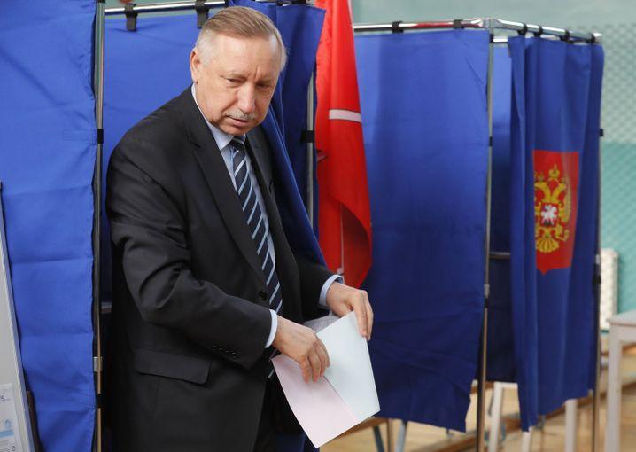 Unterstützt vom Kreml: Gouverneur Alexander Beglow in Sankt Petersburg