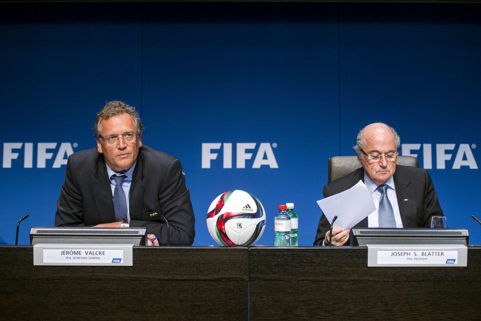 Valcke Blatter Fifa