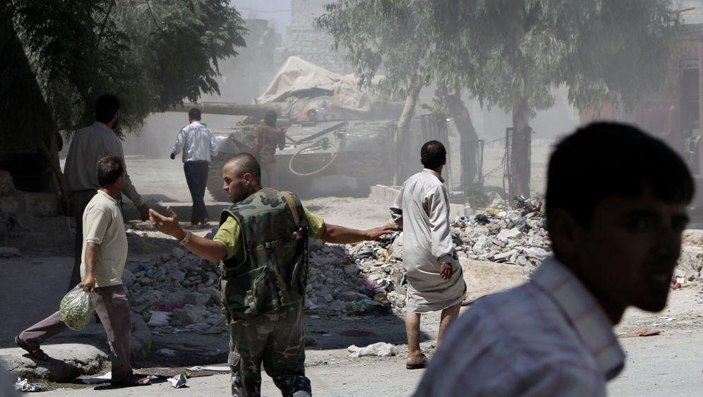 Syrien: Kämpfe um Aleppo, Entführung in Damaskus