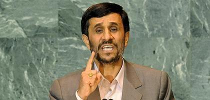"""Mahmud Ahmadinedschad: Im Ausland für """"Irritationen"""" sorgen"""