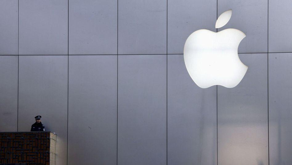 Apple-Store (in Peking): Starkes Umsatz- und Gewinnplus