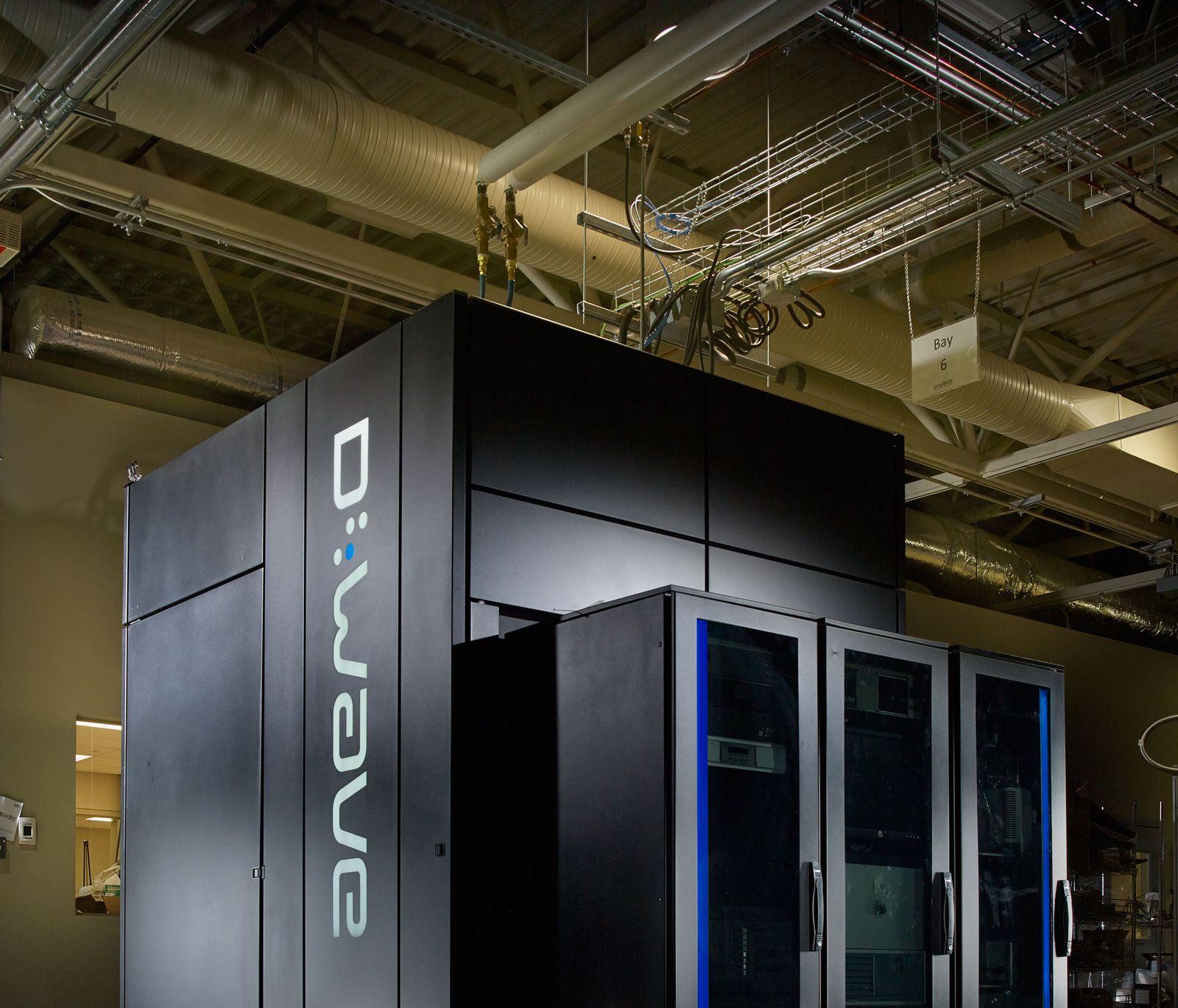 Quantencomputer von D-Wave