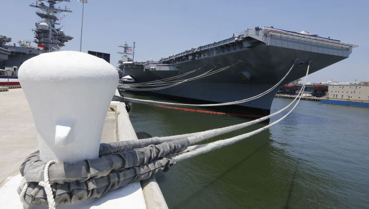 """""""USS Gerald R. Ford"""": Flugplatz auf hoher See"""