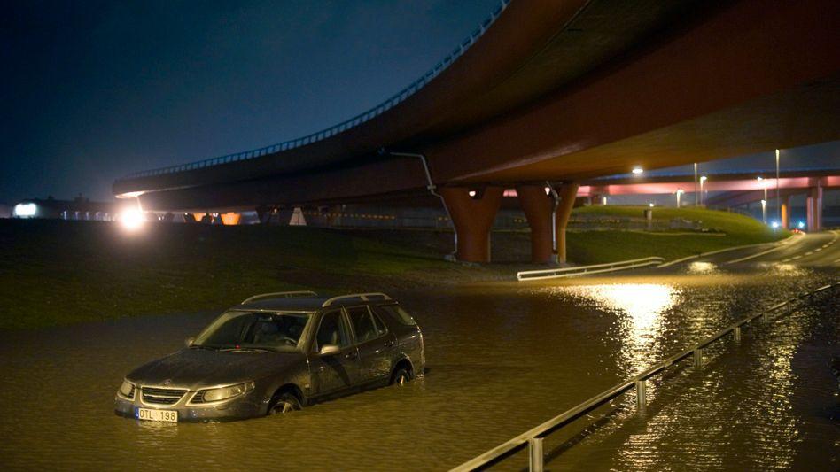 Überflutung in Göteborg: In Südschweden waren 80.000 Haushalte ohne Strom