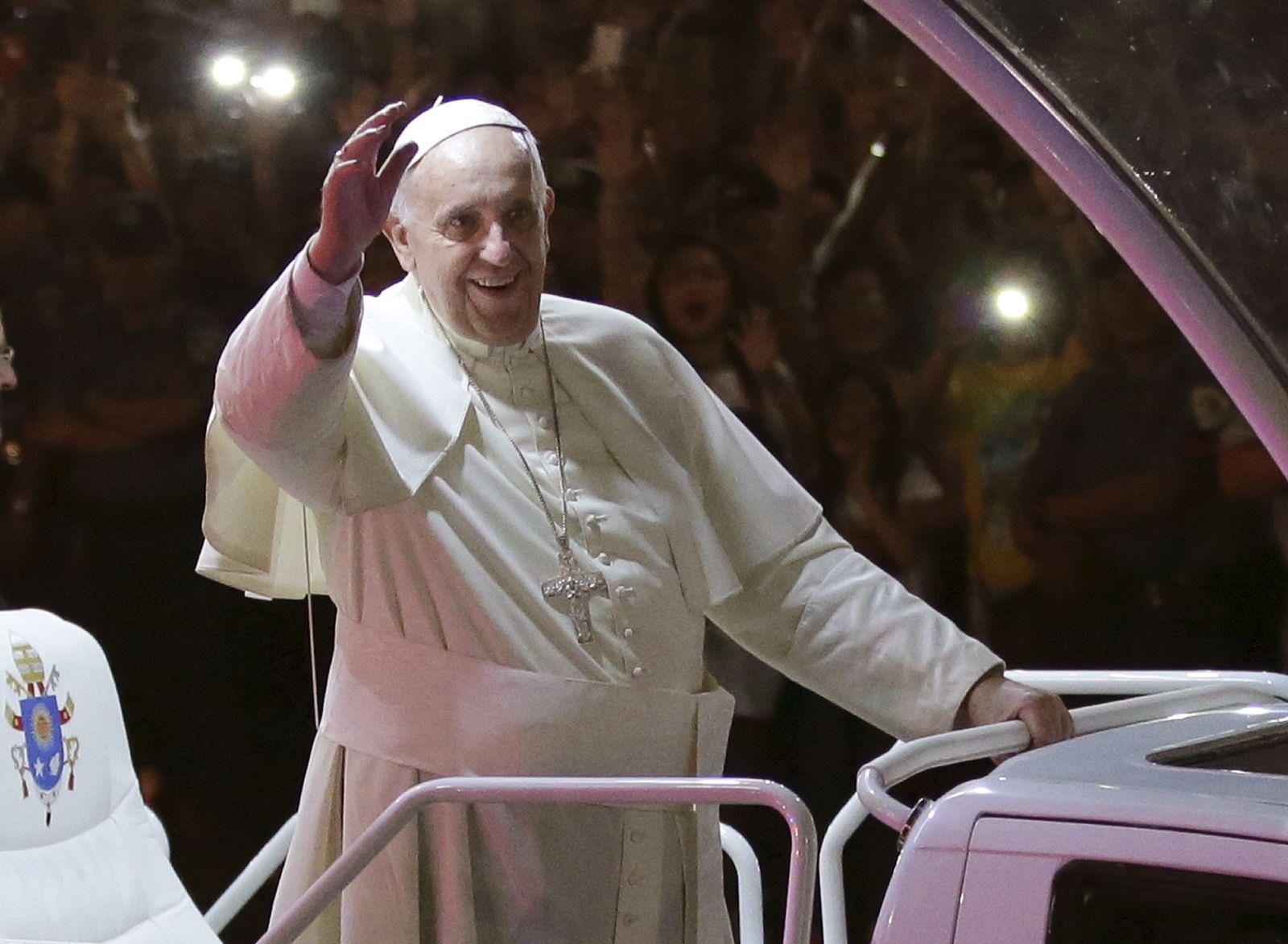Papst Franziskus/ Philippinen