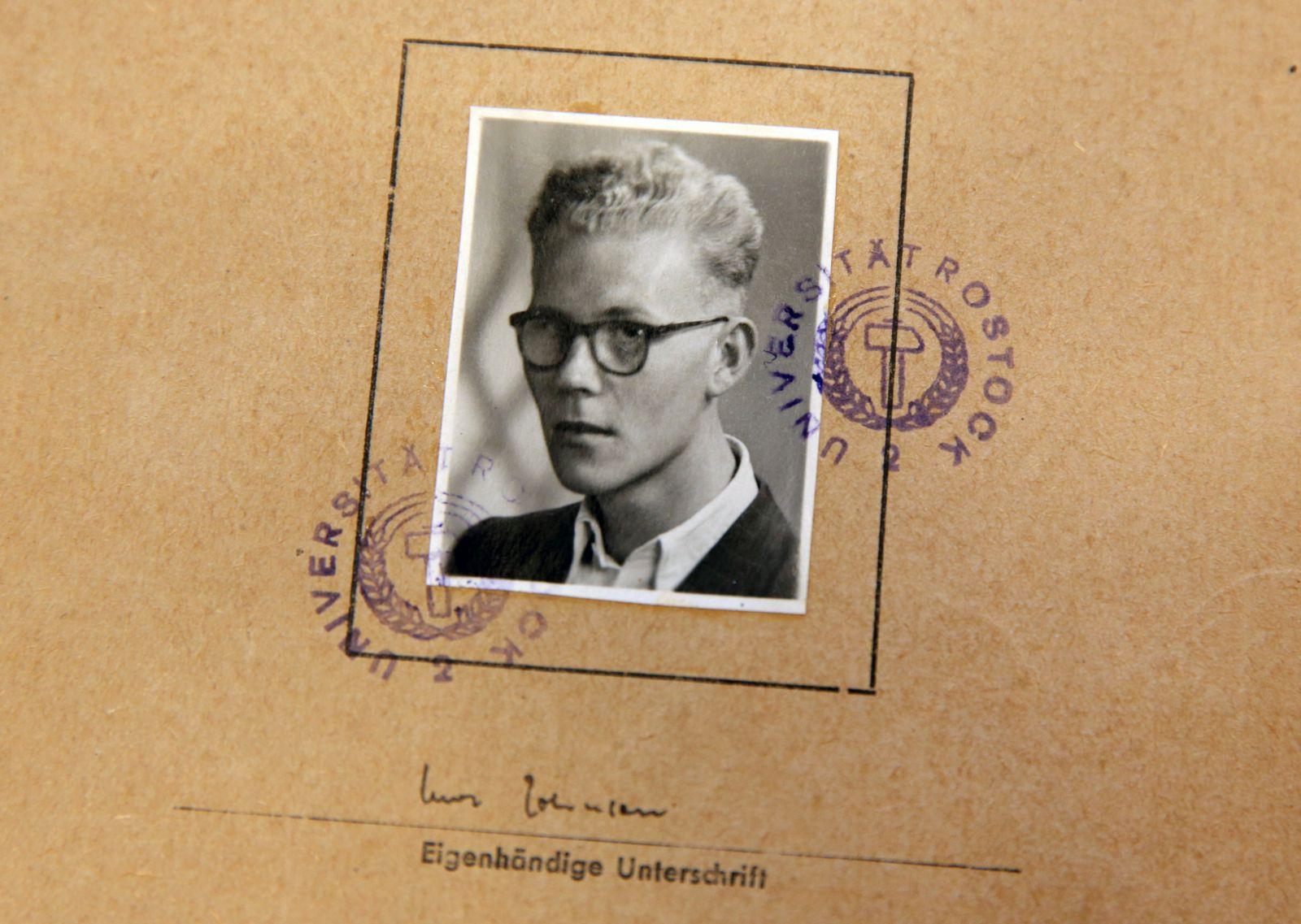 Feierliche Eröffnung des Uwe-Johnson-Archivs in Rostock