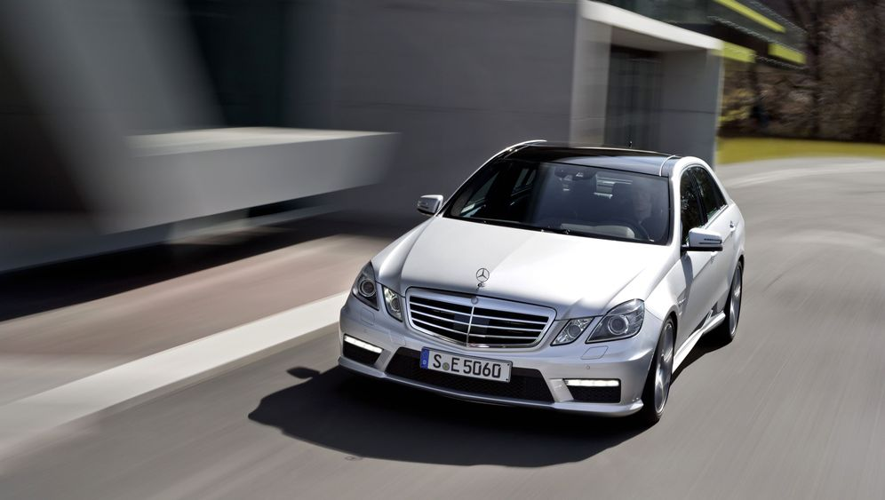 Mercedes E 63 AMG: Mit Doppelturbo gegen den Termindruck