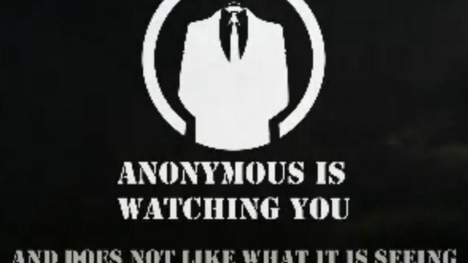 Symbol der Anonymous-Protest-Gruppierung: Protest mit Fun- und Cyberwar-Methoden