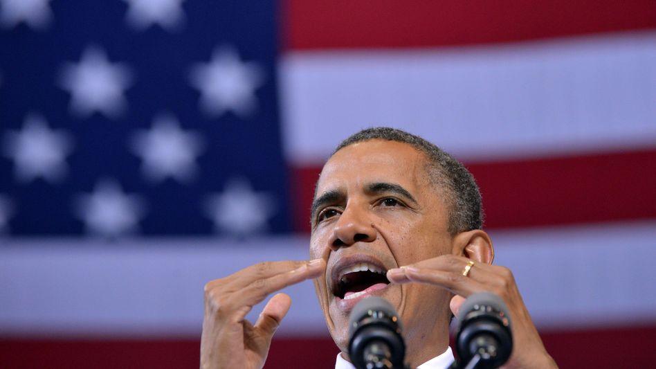 """US-Präsident Obama: """"Glaubwürdige Beweise"""" für Gefährdung der Sicherheit der USA"""