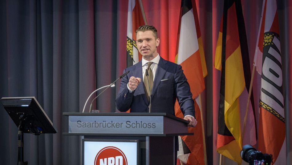 Parteivorsitzender Franz: Erst 33, dann 45