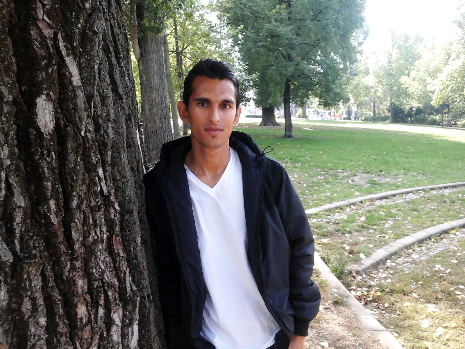 EINMALIGE VERWENDUNG Kashif / Flüchtling aus Pakistan