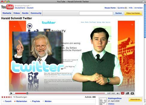 Rob Vegas: Der Politikstudent erklärt sich zum Twitter-Harald-Schmidt