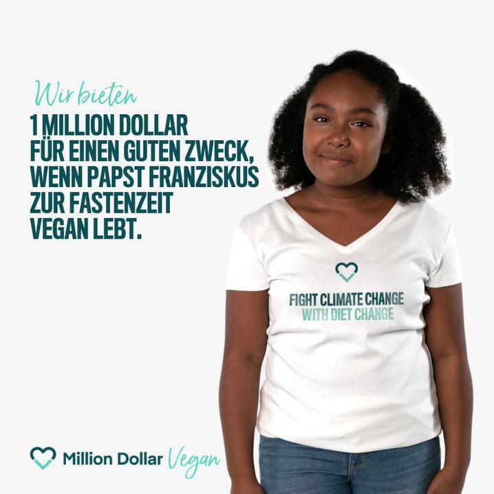 """""""Million Dollar Vegan""""-Anzeige"""