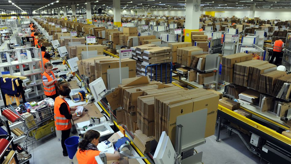 """Amazon-Logistikzentrum in Bad Hersfeld: """"Ansehen Deutschlands beschädigt"""""""