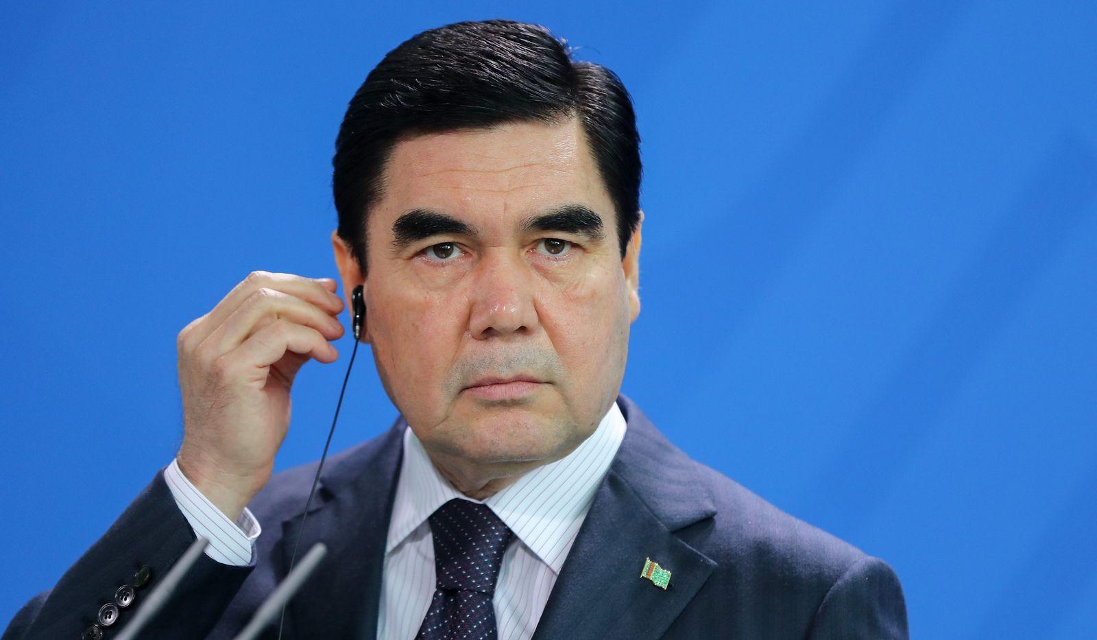 Turkmenischer Präsident Berdimuhamedow