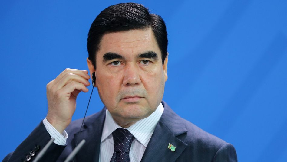 Gurbanguly Berdimuhamedow, Präsident Turkmenistans