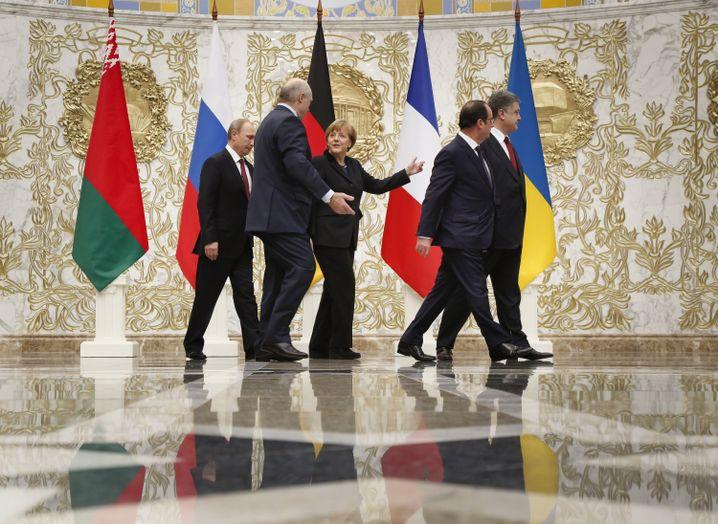 Friedensgespräche in Minsk (2015)
