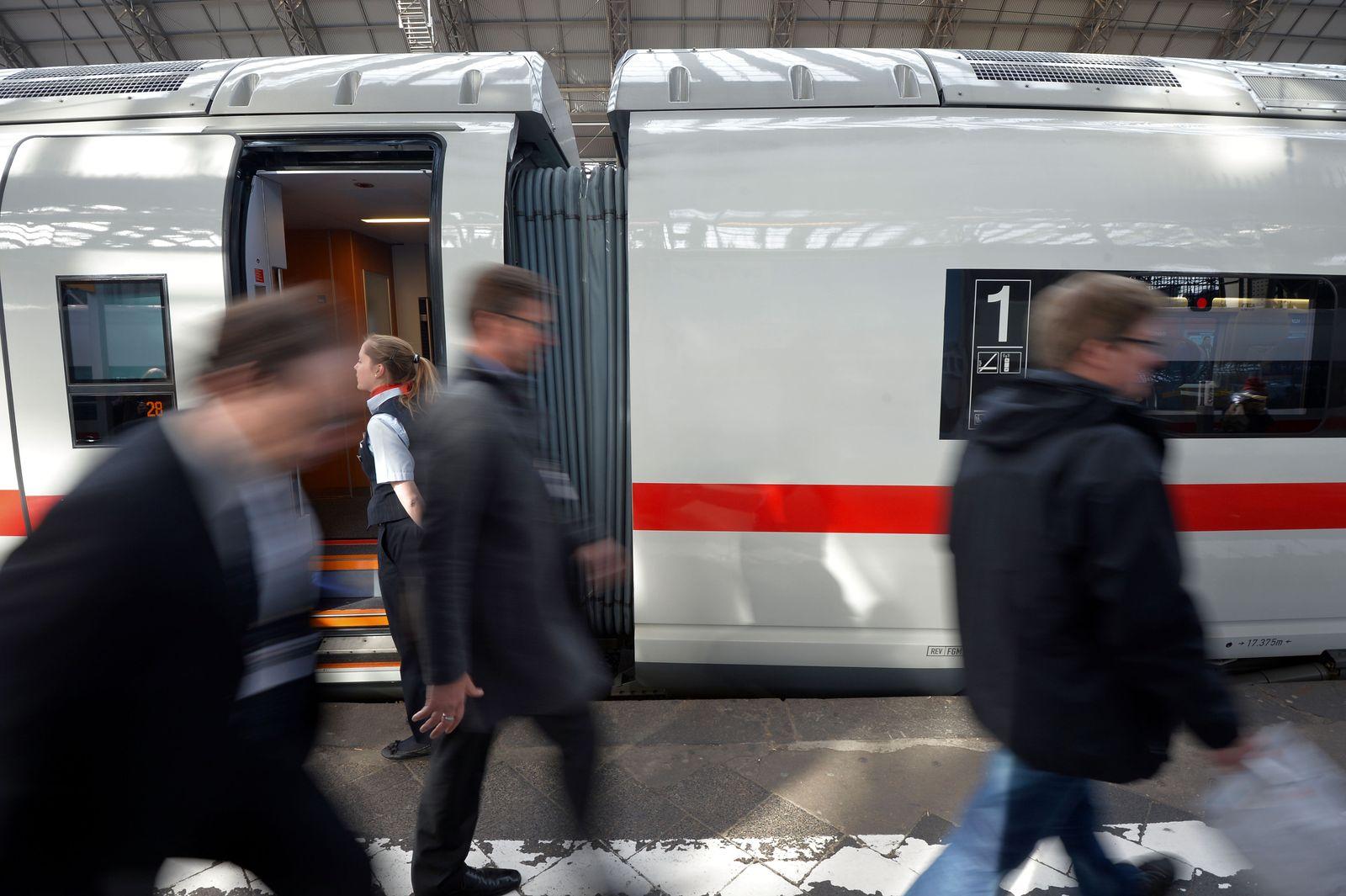 ICE Bahn Frankfurt