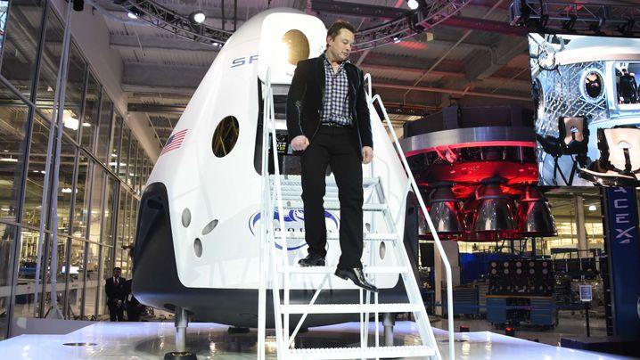 """""""Dragon V2"""": Transporter von SpaceX"""