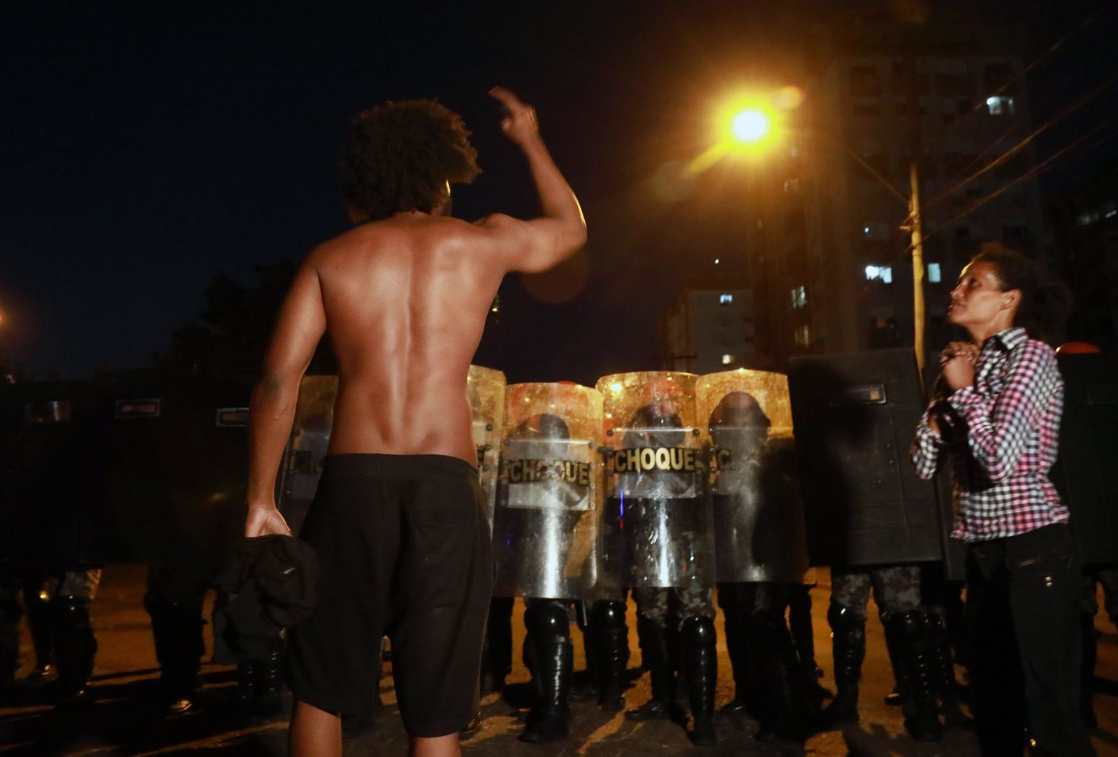 TOPSHOT-BRAZIL-RACISM-CRIME-PROTEST