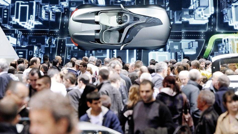 BMW-Präsentation auf dem Autosalon in Genf 2011: Selbst Hoffnungsregionen können sich über Nacht in Krisengebiete verwandeln
