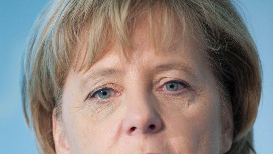 """Kanzlerin Merkel (am Samstag): """"Deutschland ist ein weltoffenes Land"""""""